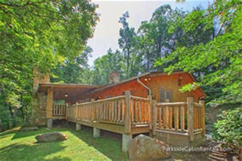 Parkside Cabins In Gatlinburg Tn by Parkside Cabin Rentals Gatlinburg Smoky Mountains