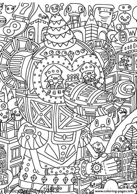 printable art pages adult doodle art doodling 10 coloring pages printable