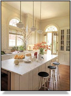 warm and light kitchen