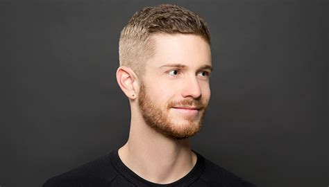 men s hair tutorial how to maintain and style a crew cut