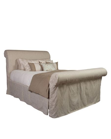 sleigh bed slipcover 17 best images about beautiful beds on pinterest white