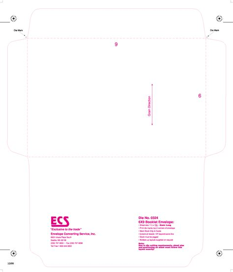 is there a template for 6mm x 9 5mm cards 6 215 9 envelope template booklet envelopes template booklet