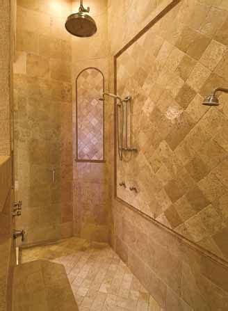 Open Showers No Doors Open Shower Designs Studio Design Gallery Best Design