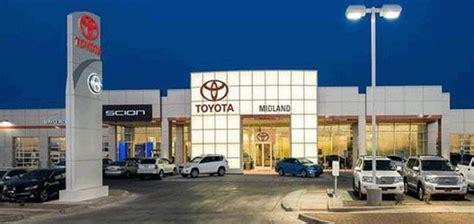 toyota of midland tx toyota of midland midland tx 79703 7713 car dealership