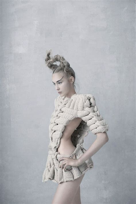 Amazing Knits By Backlund by Artistic Knitwear Design With Intricate Interlocking