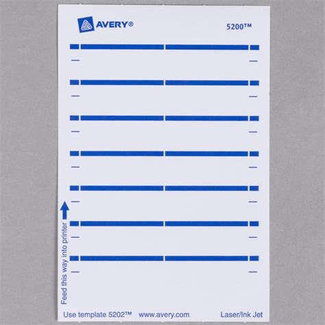 avery 5202 label template avery 5202 11 16 quot x 3 7 16 quot white rectangular write on