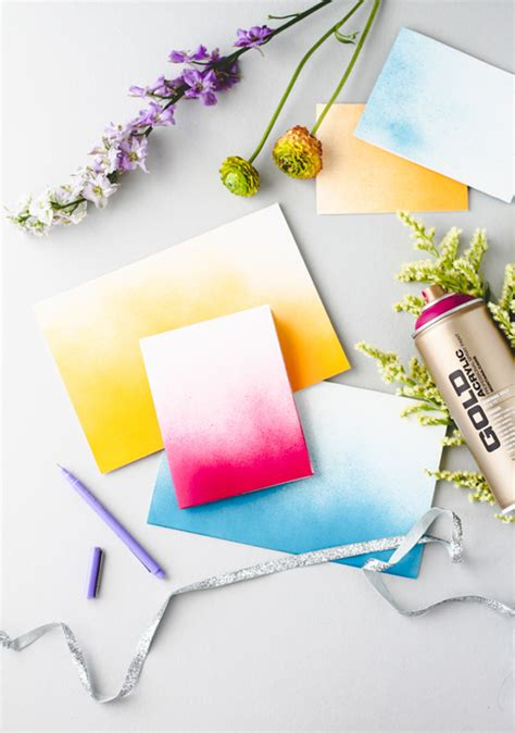 How To Make Paper Spray - 10 diy stationery ideas the crafted