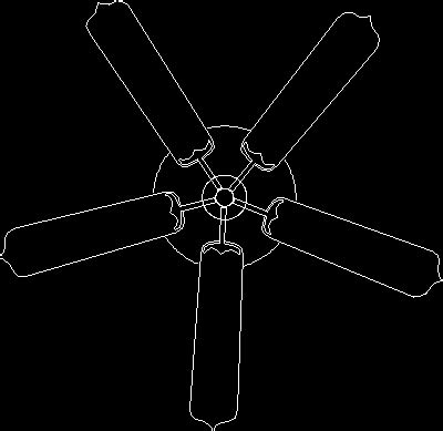autocad ceiling fan block roof fan in autocad drawing bibliocad