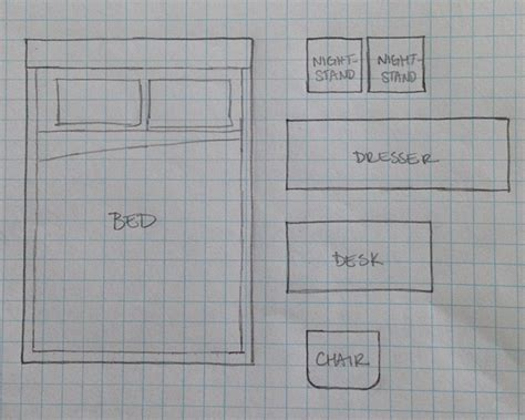 draw a room to scale decorating with kids furniture layout