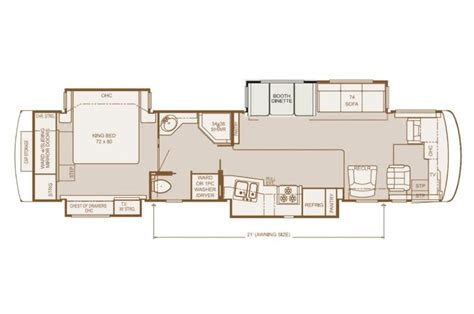 dutch star rv floor plans dutch star rv floor plans home design inspirations
