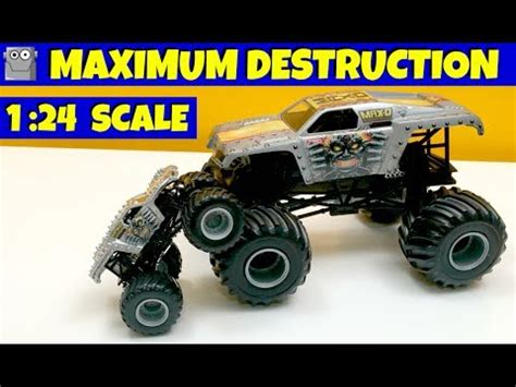 monster jam 1 24 scale maximum destruction 1 24 scale monster jam truck max d