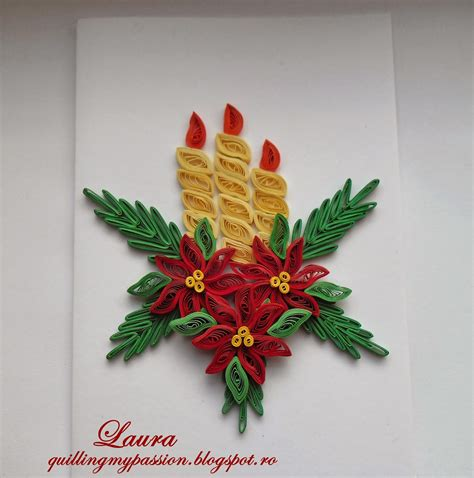 images christmas quilling quilling my passion christmas cards felicitari de craciun