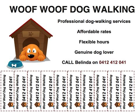 9 best images of dog walking poster template dog walking