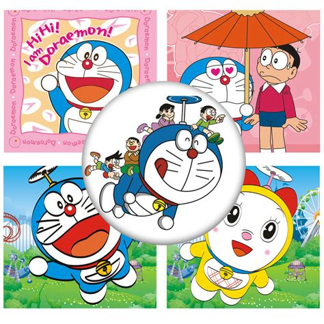 Wallsticker Doraemon 2 cool personality doraemon switch sticker bedroom wall stickers home decoration poster