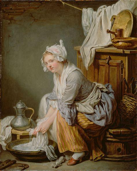 The Laundress by The Laundress Greuze