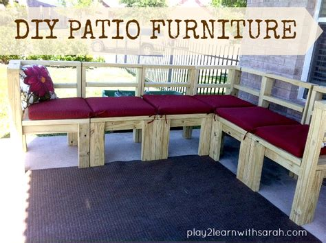 make your own patio furniture make your own patio furniture chicpeastudio