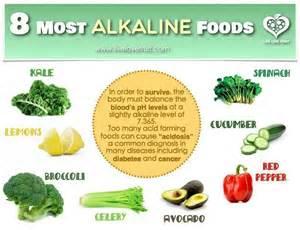 8 most alkaline foods healthy