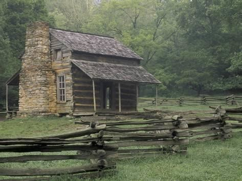 Johns Cabin by Oliver Cabin In Cades Cove Great Smoky Mountains