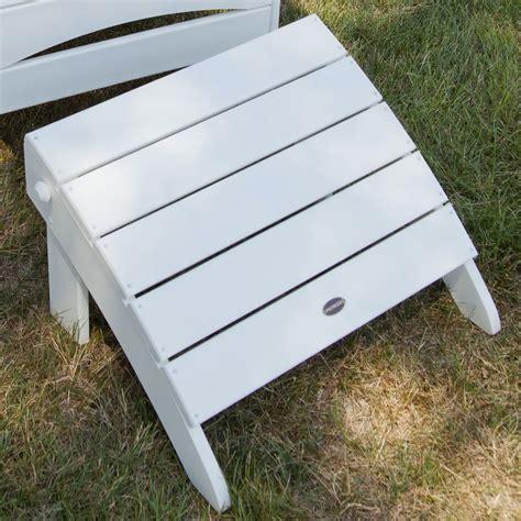 polywood adirondack chair with ottoman polywood 174 adirondack oversized ottoman