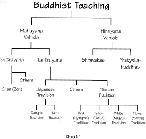 sections of buddhism branches and sects extreme worldview 5000