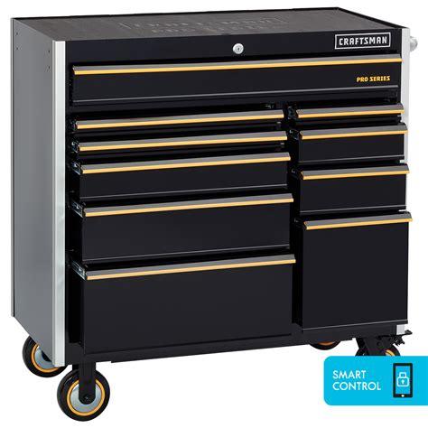 craftsman proseries   drawer rolling cart  smart