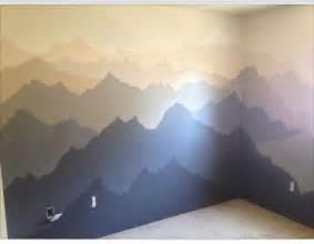 Mountain Wall Murals murals on pinterest kids murals kids wall murals and tree mural