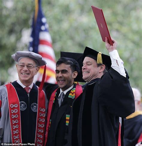 matt damon s house boston matt damon tells mit graduates to face the world s