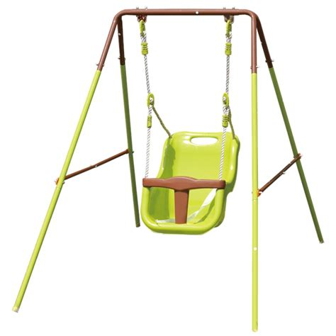 infant swing seat outdoor swing slide climb baby swing seat bunnings warehouse