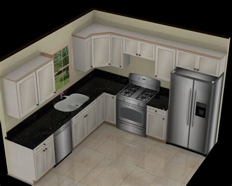10x10 kitchen designs with island man made slabs quartz