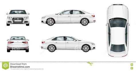 Auto Schablone by Sedan Cartoons Illustrations Vector Stock Images