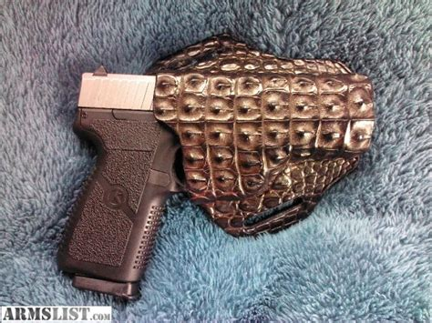 skin for sale armslist for sale alligator skin holster rh kahr bersa