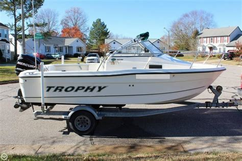 fishing boats for sale virginia beach 2007 used trophy 1802 walkaround fishing boat for sale