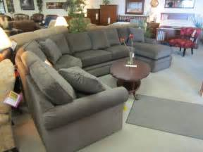 lazy boy collins sectional grey family living rooms