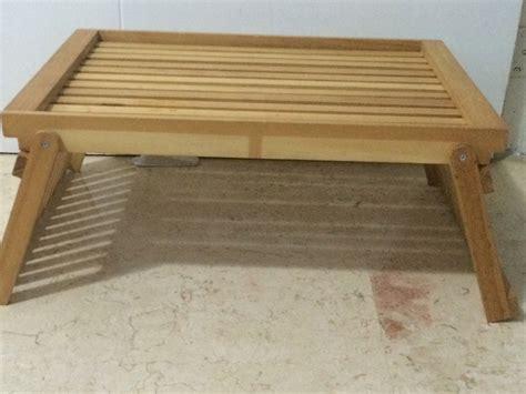 mesa para comer en la cama mesa de madera para comer en la cama bs 8 000 00 en