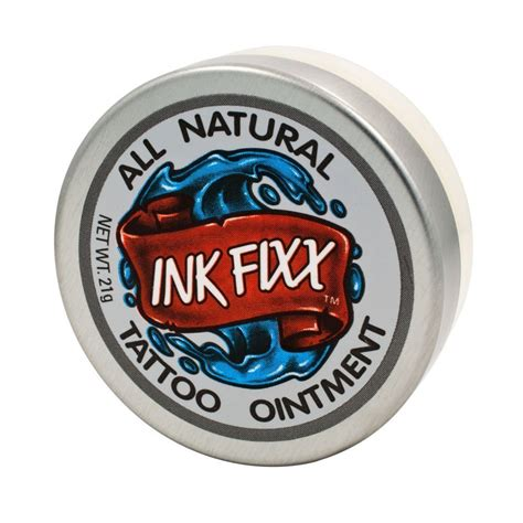 ink fixx tattoo ointment review amazon com ink fixx all natural tattoo lotion beauty