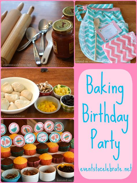 baking ideas baking birthday printables archives events to