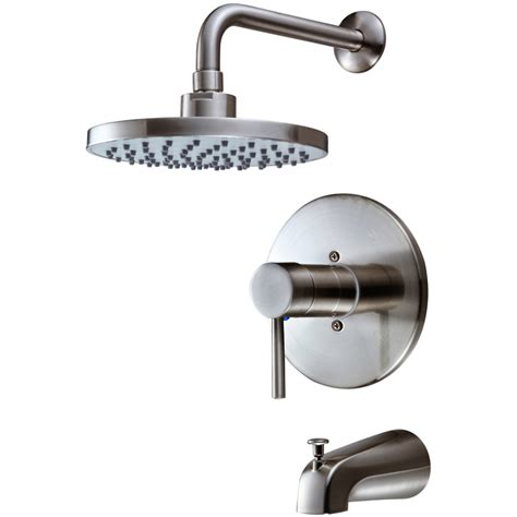 Shower Faucet Combo by Hardware House 13 5627 Satin Nickel Tub Shower Combo Faucet