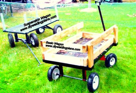 Diy Garden Cart by Basic Wagon And Suspension Wagon Garden Cart Diy