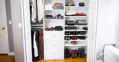 His And Closet by His And Hers Master Closet Makeover Reveal