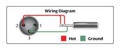 microphone pinouts wiring and connection diagram
