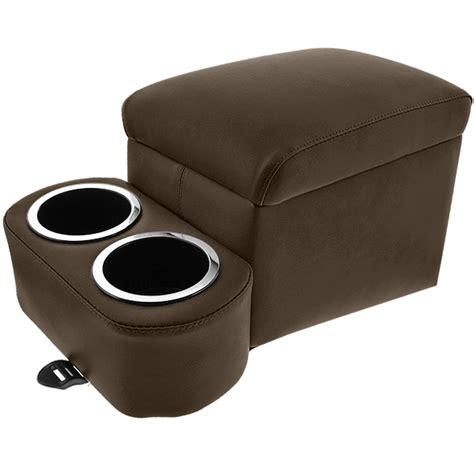 tall bench seat brown tall bench seat cruiser console cupholdersplus com