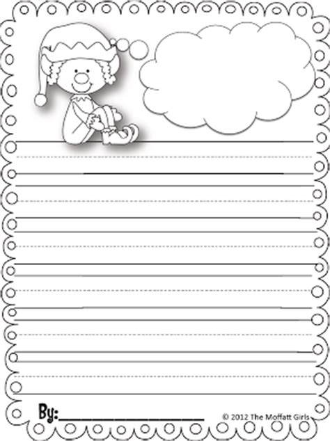 printable elf paper freebielicious elf on the shelf writing paper