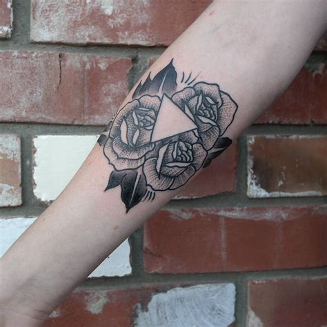 triangle tattoo ideas 65 best triangle designs meanings sacred