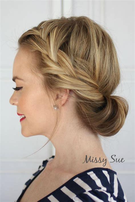 tuck in hairstyles best 25 headband tuck ideas on pinterest headband updo