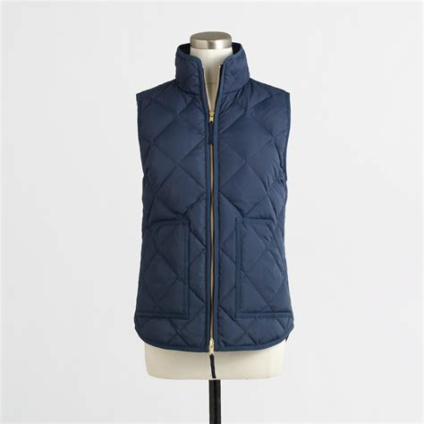 puffer vest j crew factory puffer vests in the city