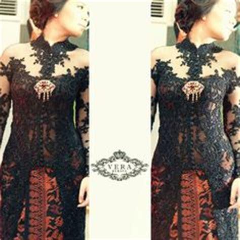dress sabrina hitam vera kebaya vera kebaya indonesia