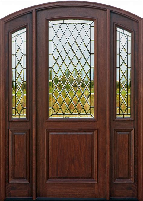 Exterior Entry Doors With Glass Wood Doors Exterior Doors Mahogany Doors Entry Doors Canton Michigan Nicksbuilding