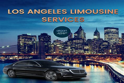 los angeles limousine ride in style with los angeles limousine services