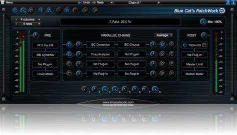 Blue Cat Audio Patchwork - kvr blue cat s patchwork by blue cat audio effect rack