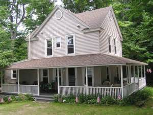 wrap around porches country home design with wraparound porch homesfeed